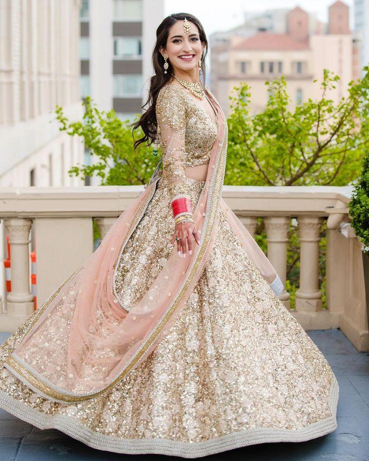 #Sabyasachi #Couture #Lehenga #RealBride #SachiSobti in #SanFrancisco @fairmontsanfrancisco #TheSabyasachiBride @bridesofsabyasachi #IndianBridesWorldwide #HandCraftedInIndia #DestinationWeddings #DreamWeddings #TheWorldOfSabyasachi Photograph by @weddingdocumentary @thegrandtrunk_official @sanfrancisco.city