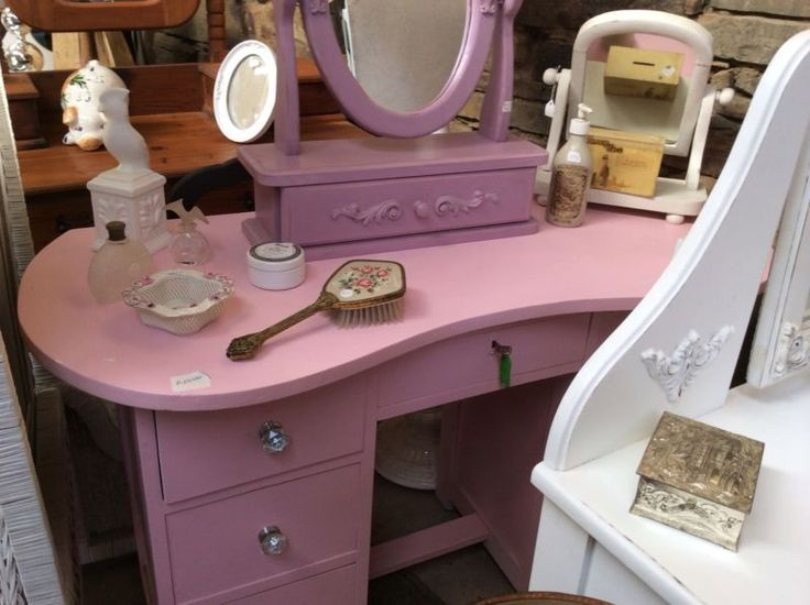 PINK DOLLY VARDEN from the 50s, a white dresser like this too, add a chair and one of our cute mirrors for a cool decor treat for your little girl!DELIVERY AND DEBIT CARD FACILITIES - email me for directions or google heyjudes and look under about us. 20 mins from Hillcrest and 10km off N3 @ Camperdown off ramp gets u to the Barn! from Durban side go off N3 at Camperdown off ramp, left at top 3km to Tjunction, Left on R603, go 4km see HEY JUDES ANTIQUES BARN sign and go RIght at the ...