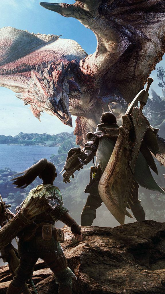 Monster Hunter World 4k Ultra Hd Mobile Wallpaper In 2020 Monster Hunter World Wallpaper Monster Hunter Monster Hunter World