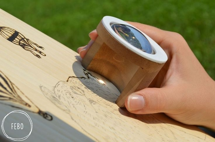 Use Febo To Engrave Objects Using Nothing But Sunlight
