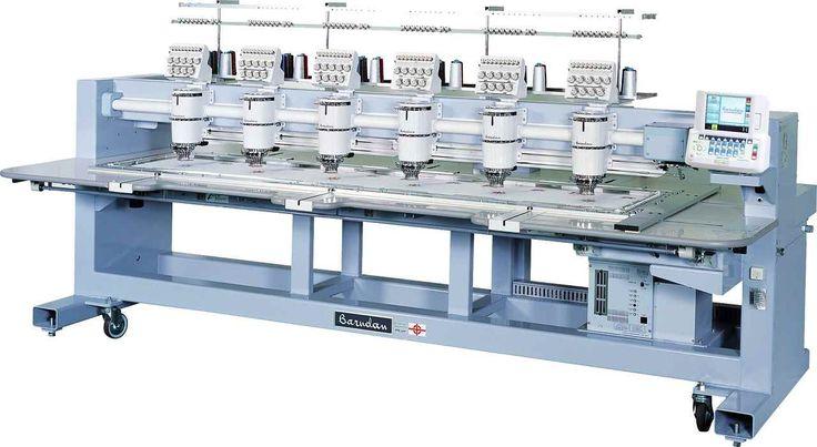 Buy Barudan BEXY-II Series Multi-head Computerized Embroidery Machines Online in India   IIGM Industrial Supply