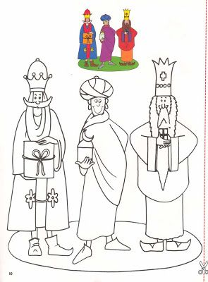 Search Wise Men Christmas Bells Epiphany Reyes Coloring Games Projects Pranks