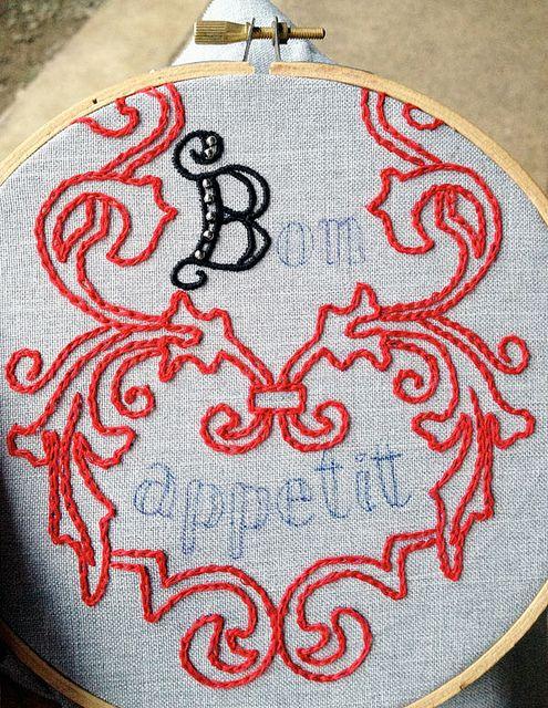 feeling stitchy: Beeton's Book of Needlework, Sandwich case pattern by Lia