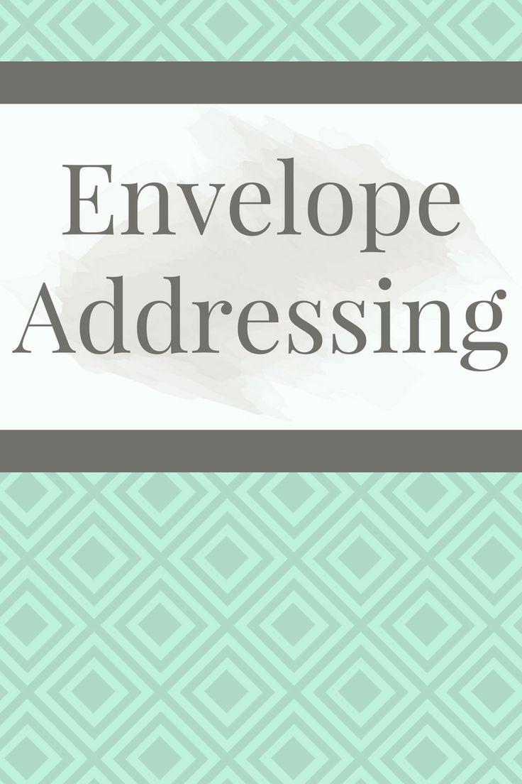 Best Envelope AddressingLetter Perfect Designs Images By Letter