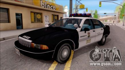 Chevrolet Caprice Police LSPD para GTA San Andreas