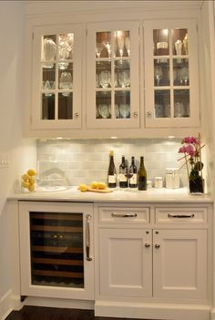 This was in the Lennar home we walked through. Loved this feature in that home! Butler's Pantry Design. The butler's pantry is set apart from the main ...