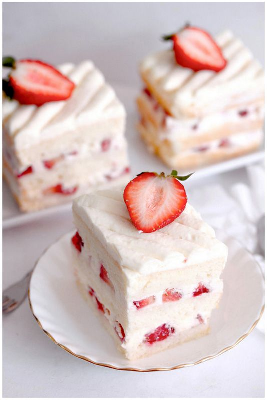 Strawberry Shortcake #desserts #dessertrecipes #yummy #delicious #food #sweet
