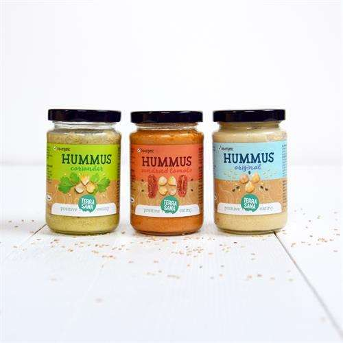 3 soorten hummus, nu met nog beter recept! Heerlijk bij pizza croccantina crackers of op kiembrood.