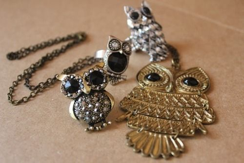 Owls accessories <3