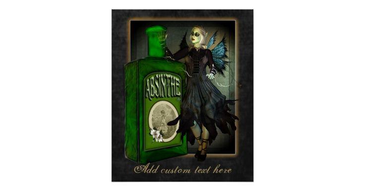 Absinthe Faerie Custom Poster | Zazzle