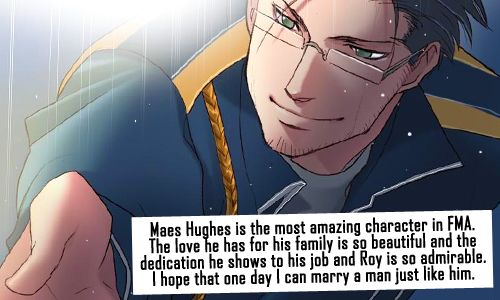 """I like woman. But, if any of my fave male characters proposed to me, I would say """"he'll yes!"""""""