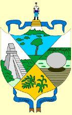Departamento de Petén, Guatemala, Capital: #Flores, Ext 35854 Km² #Petén (L2350)