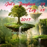 Jul's Progkast - 28 - Top 15 2017  Independent progressive rock tracks - amazing show. The J Conspiracy is on #11 AND #5 :))