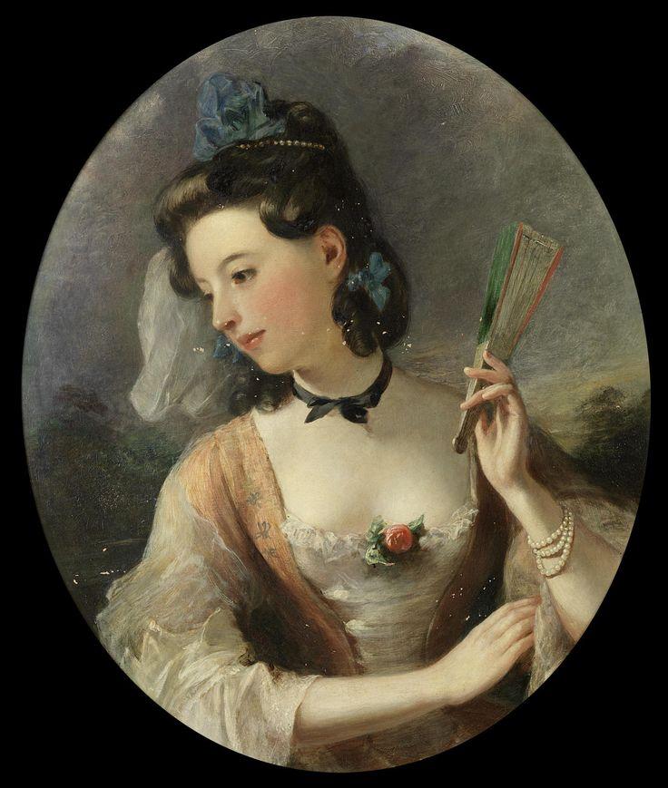 Thomas Phillips (circle, 1770 - 1845) - Portrait of a lady