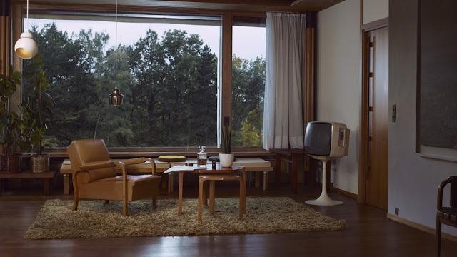"Ben Sandler ""Tomorrowland"" at Maison Carré by Alvar Aalto"