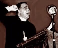 Fr. Charles E. Coughlin, broadcast pioneer, and voice for the common man....