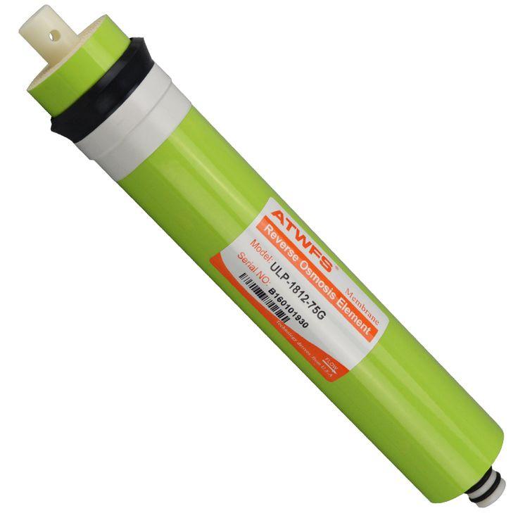 ULP-1812-75G 75gpd Membrana de Ósmosis Inversa Sistema de Filtro de Cartucho De Filtro De Agua RO Purificador de Agua En General Común