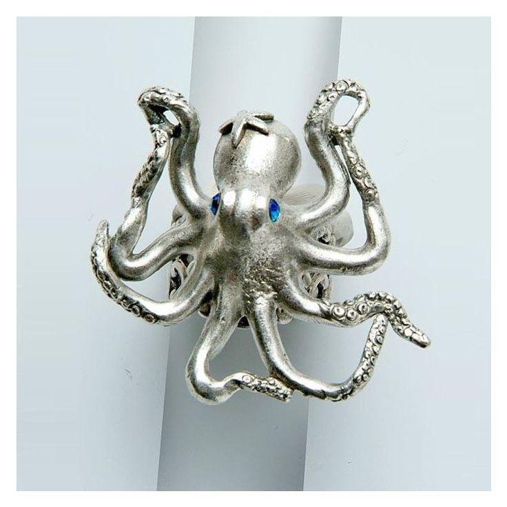 Octopus Ring   By the Sea   La Contessa