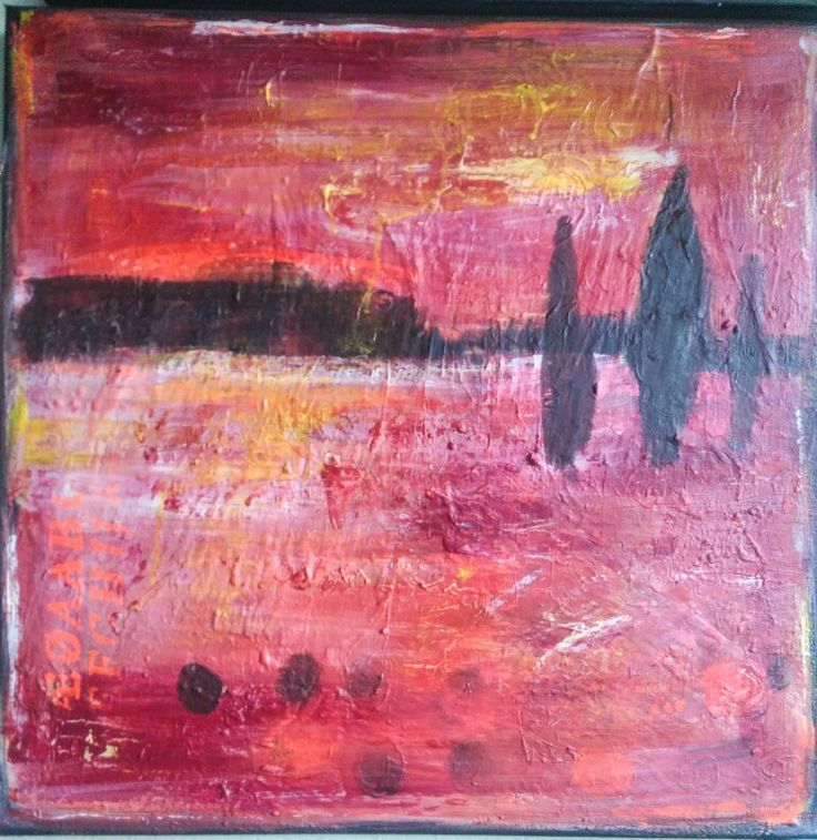 Kobiety, Małgorzata, abstract, painting, acrylic