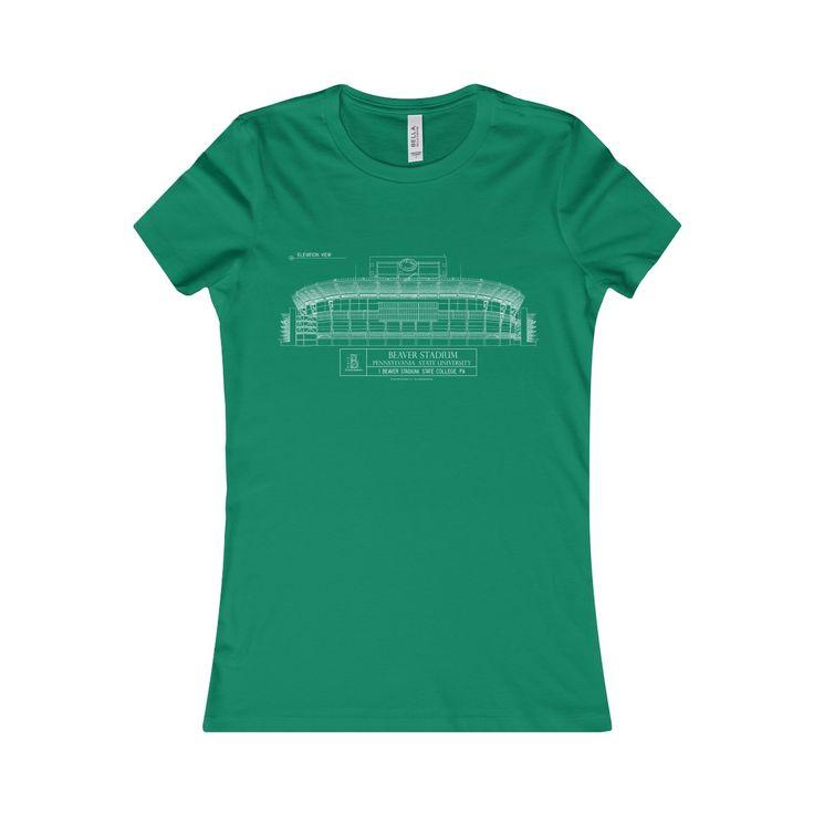 Beaver Stadium Women's Favorite Short-Sleeve Tee