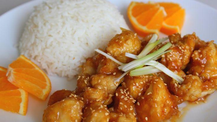 Egy eredeti kínai receptet mutatunk. Ezt ki kell próbálni, hiszen nagyon finom. Kicsit több időt igényel az elkészítése, de a végeredmény megéri. A narancslében megforgatott csirkehús csak úgy szétomlik a szánkba.        1. lépés: süssük meg a