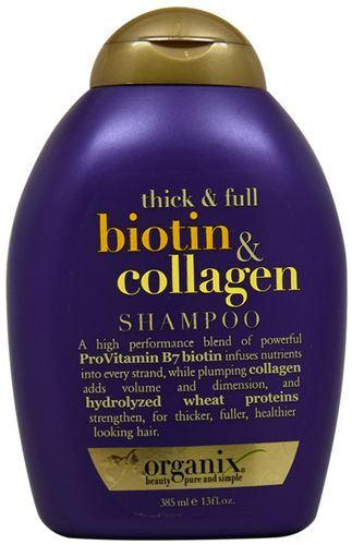 Organix - Thick and Full Biotin and Collagen Shampoo (13 oz.)