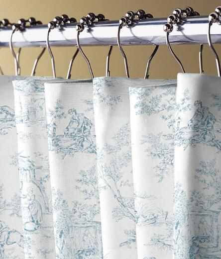 Lenoxdale Toile Shower Curtain