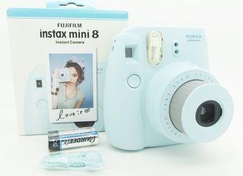 Fujifilm Instax мини 8 мгновенных фильм фото жк-поляроид камеры желтый сине-бело-черный розовый подарок