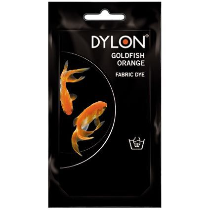DYLON Elde Boyama - Altın Balığı Turuncusu - Goldfish Orange Fabric Dye - Elde Boyama www.gagva.com.tr