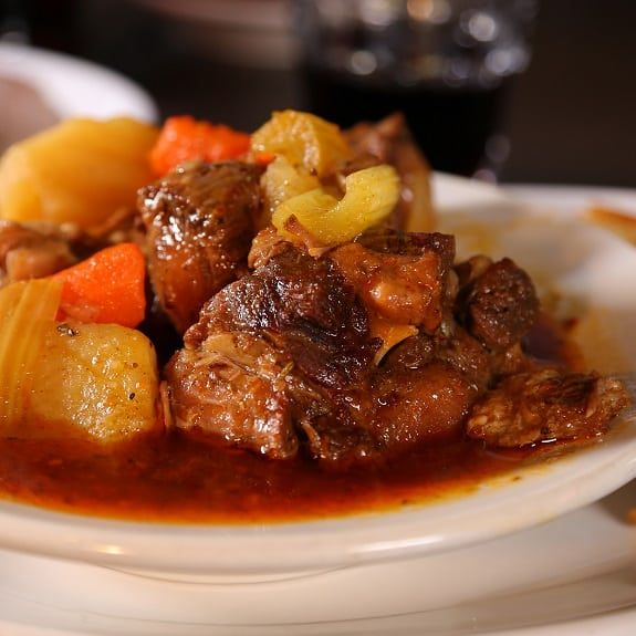 Pressure Cooker Oxtail Soup Recipe Magic Skillet Recipe Oxtail Stew Stew Recipes Food Network Recipes