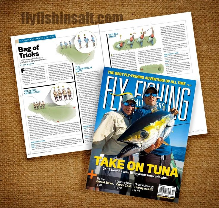 8 best articles appearances images on pinterest for Saltwater fly fishing magazine