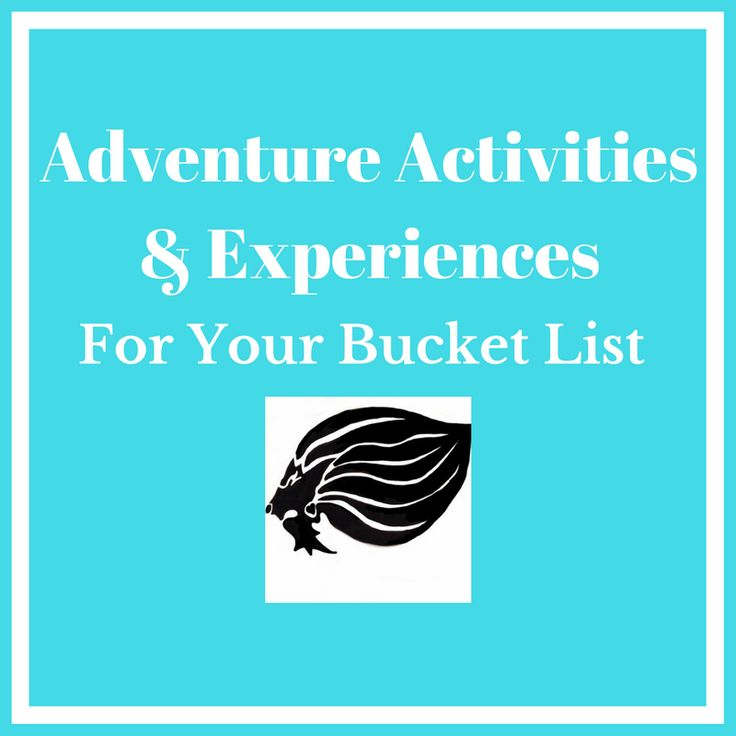 Activities & Experiences - cover