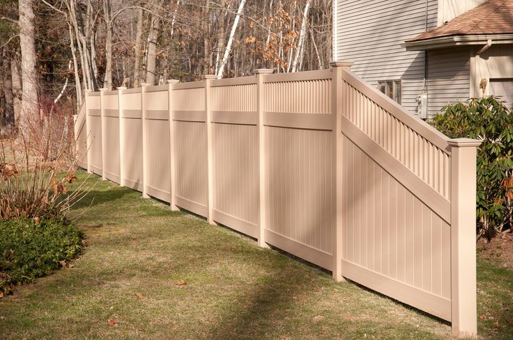 1000 Ideas About Vinyl Privacy Fence On Pinterest White