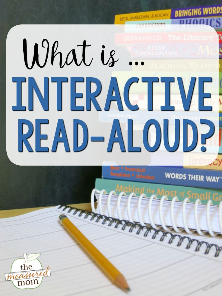 Learn how to do an interactive read aloud with your students - and get a free printable book list!