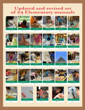 Montessori Research and Development Manuals / Albums - totes the best Montessori Albums