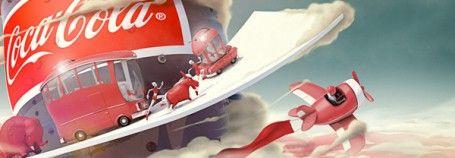 Andre Ljosaj coca cola poster
