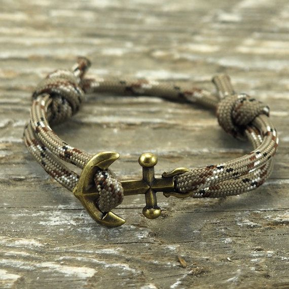 Nautical Bracelet - Paracord Bracelet - Anchor Bracelet - Mens Anchor Bracelet - Anchor - Nautical Bracelets - Summer Fashion