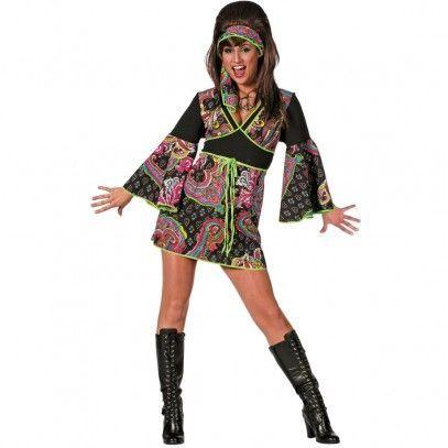Hippie Kostüm Gina –  – #Kurzhaarfrisuren