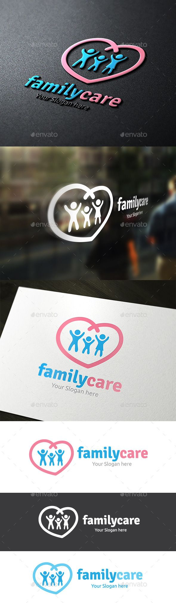 Family Care — Vector EPS #family #activities • Available here → https://graphicriver.net/item/family-care/9323505?ref=pxcr