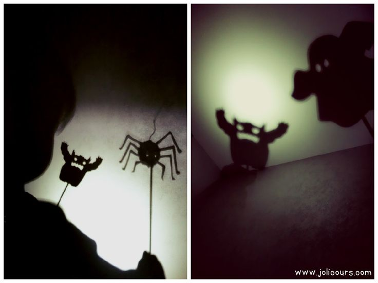 Des silhouettes pour #Halloween. #DIY Jolicours