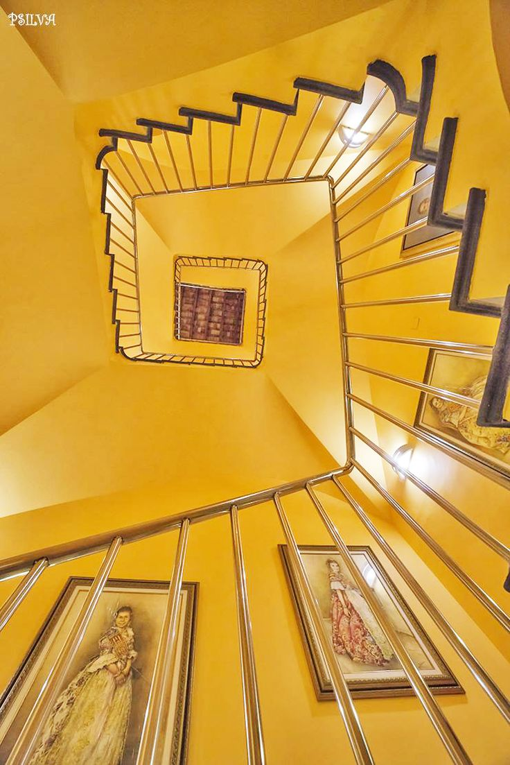 Yellow Staircase by Antonio Manuel Pinto Silva