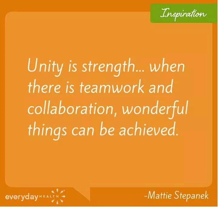 unity is strength