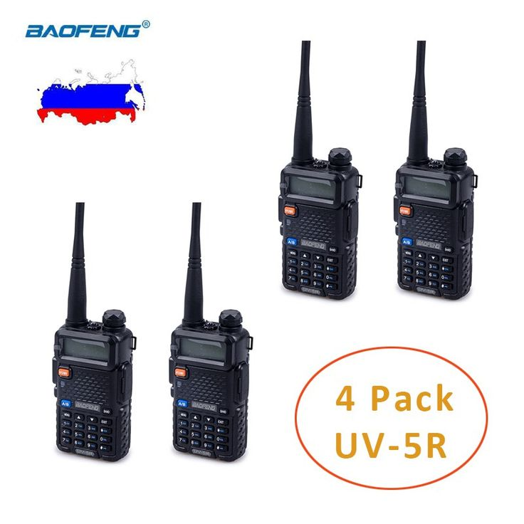 Buy US $24.49  4 PCS of BAOFENG Handheld UV-5R Radio(RUSSIAN ONLY), 136-174mhz/400-520mhz Ham Radio, Baofeng Dual Band Two Way Radio  #BAOFENG #Handheld #UV-R #Radio-RUSSIAN #ONLY- #----mhz----mhz #Radio- #Baofeng #Dual #Band #Radio