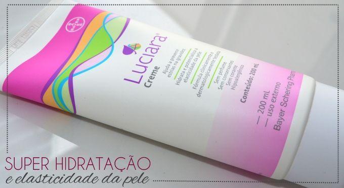 Resenha: Luciara creme   Super hidratação para prevenir estrias   resenha creme luciara hidratante estrias gravidez gestante 1