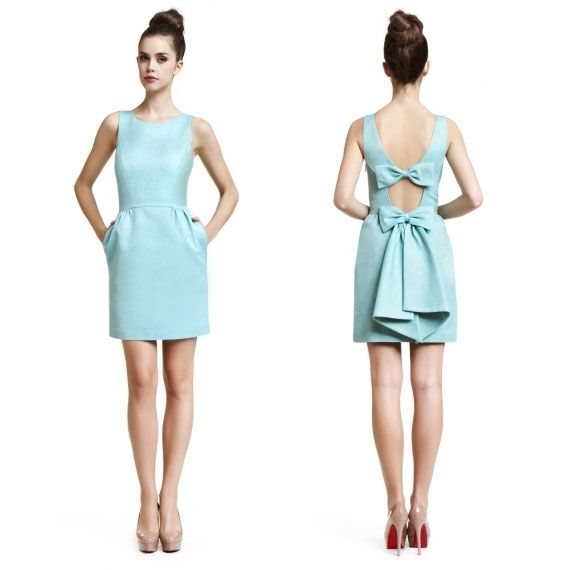 erin fetherston bow dress; breakfast at tiffany's dress; cute cocktail dresses