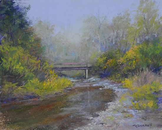 """The Old walking Bridge by Kathy McDonnell  ~ 8"""" x 10"""""""