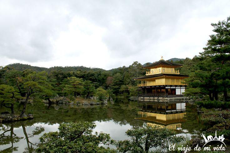 Templo Pabellón Dorado Kioto Japón