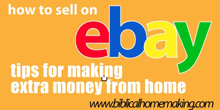 Biblical Homemaking: how to sell on ebay | pricing your item.#TheDSDomination – DIY