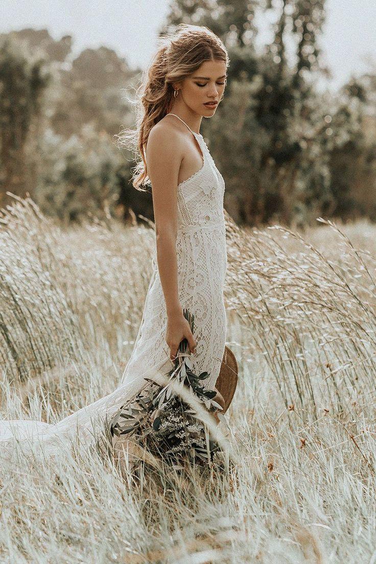 Casablanca Lace Halter Gown Cheap Wedding Dress Wedding Dress