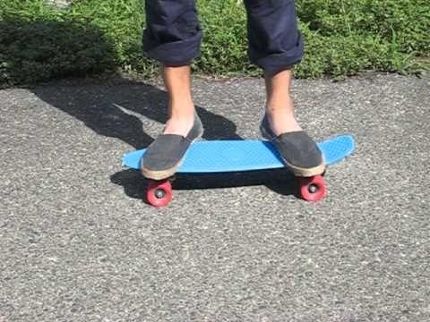 乗り降りの練習(初心者) ペニースケートボード乗り方|I LOVE PENNY